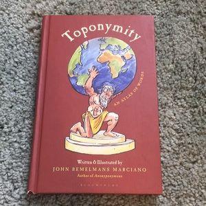 Toponymity An Atlas of Words